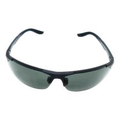 New Men's Polarized Sunglasses Trend Sunglasses Polarized Driving Sunglasses Black rimmed frame