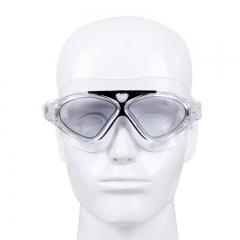 Male Female Swimming Goggles Web Celebrity Big Box Professional Diving Waterproof Anti-fog Goggles Black 41.8*28.9*2.6cm