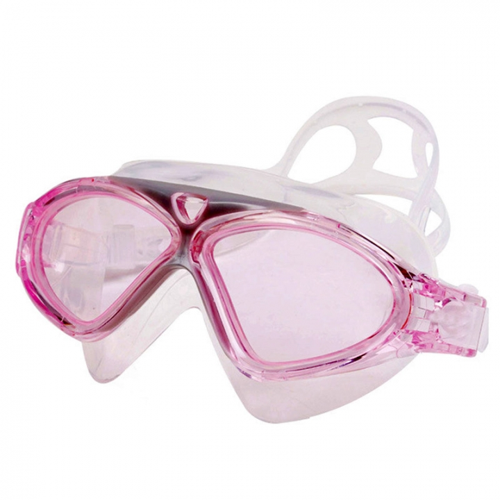 a9d2869f950 Male Female Swimming Goggles Web Celebrity Big Box Professional Diving Waterproof  Anti-fog Goggles Pink