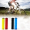 1Pair Cycling Handlebar Mountain Bike Bicycle Car-covers Rubber Anti-slip Handle Grips Red