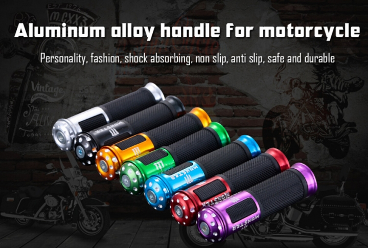 Modified Motorcycle Accessories Handle Aluminum Alloy Handle Sets Plastic Handle Red