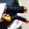 Bicycle Grips Sponge Handlebar Cover Soft Foam Anti-Slip Handle Bar for Outdoor Sports Riding Cyling Blue