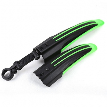 Mountain Bike Mudguard Front Rear Quick Release Cycling Bicycle Fenders Green