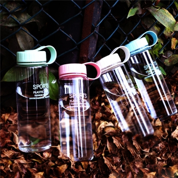 Bottle Sport Bicycle Fruit Juice Water Bottles 500ML Big Capacity Sports Water Bottles Radom Color 500ML