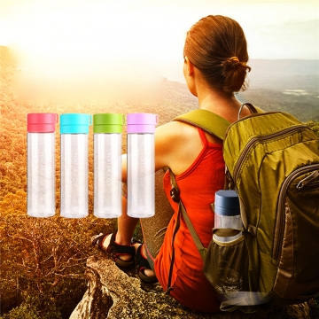 Sports Water Bottle for Outdoor Cycling Camping Hiking Food Grade Sports Bottle Drinkware Radom Color 800ML