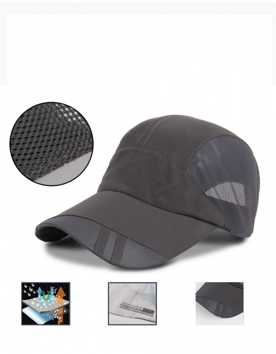Hot Men Women Adjustable Golf Hip-hop Sports Hat Baseball Caps Sun Snapback Hat Black One size