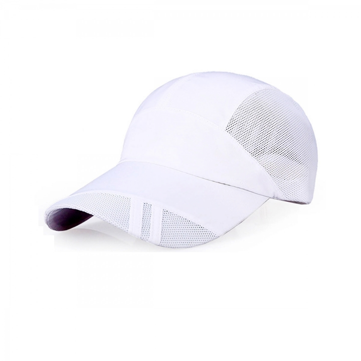 Hot Men Women Adjustable Golf Hip-hop Sports Hat Baseball Caps Sun Snapback Hat White One size