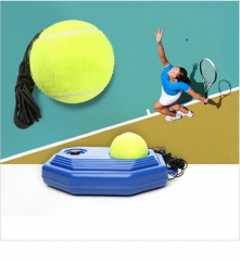 Pro's Pro Tennis Ball Trainer Set Training Equipment Plastic Pedestal for Tennis Ball Blue One size