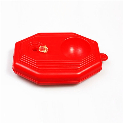 Pro's Pro Tennis Ball Trainer Set Training Equipment Plastic Pedestal for Tennis Ball Red One size
