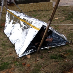 Camping Emergency Tent Blanket First Aid Survival Rescue Curtain Tent Tools Outdoor Hiking Kits At Picture 240*150*90cm