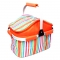 Waterproof BBQ Bag Lunch Bag Neoprene Thermal Bag for Lunch Boxes Picnic Cooler Bag BBQ Tools Orange