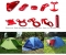 Outdoor Tents Awning Rope Buckle Circular Wind Stop Ring Button Fixed Slide Adjustment Ring At Picture 18*8*4mm