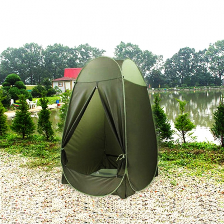 Outdoor Dressing Changing Toilet Tent Auto Open Portable Camping Beach Bath Shower Privacy At Picture 1.17 * 1.71 * 1.8m