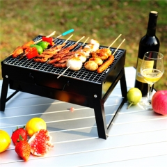 Barbecue Grill Camping Picnic Patio  Stainless Steel Charcoal Furnace BBQ Grills Stove Tools At Picture