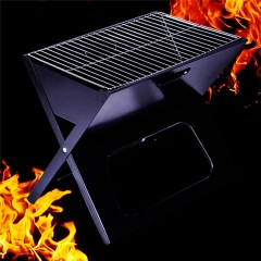 Barbecue Grill X Type Folding Portable Outdoor Barbecue Tools Charcoal Grills At Picture