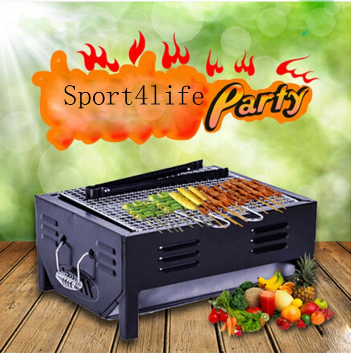 Fold Outdoor Barbecue Stoves/Simple Type Family Expenses Charcoal BBQ Grill Barbecue Essential At Picture
