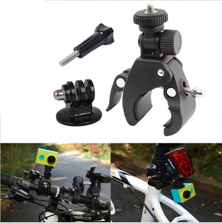 Bike Bicycle Motorcycle Sport Handlebar Mount Holder Handsfree Tripod for Digital Video Camera At Picture
