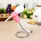 USB Fan Summer USB Mini Fan Serpentine Fan Small Mute Fan Soft Blade Flexible Student Party Gifts Pink