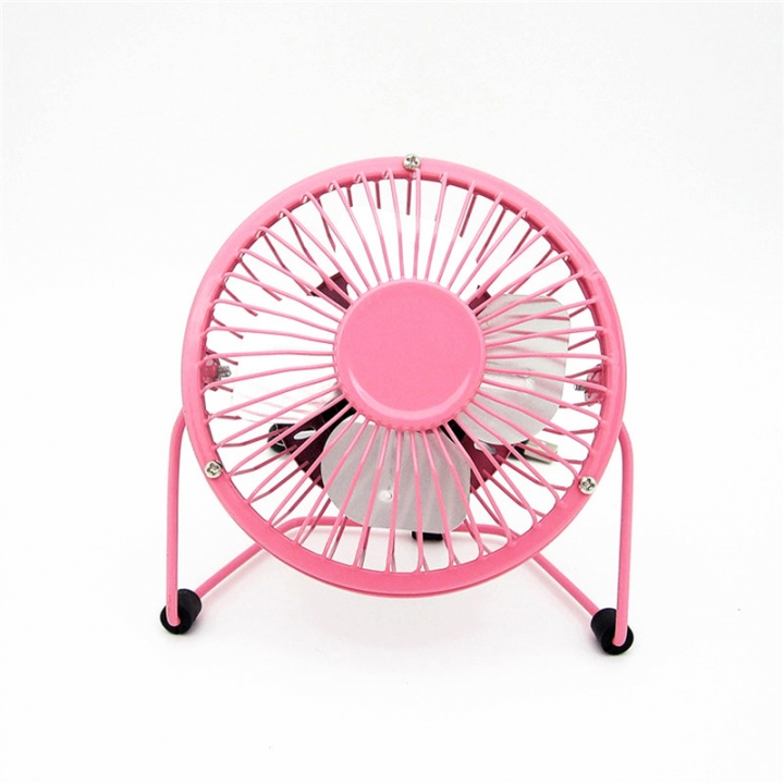 Small Desk USB Cooler Cooling Fan USB Mini Fans Operation Super Mute Silent PC Laptop Notebook Red