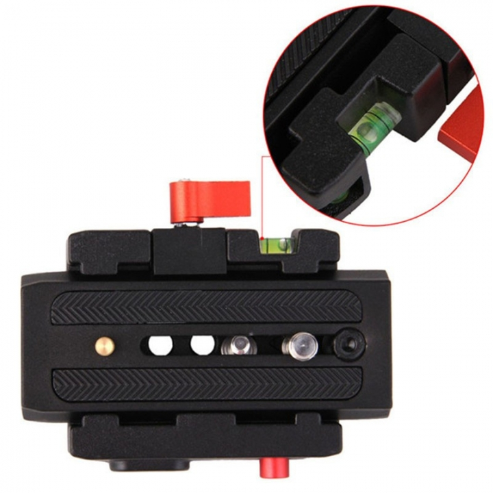 Photography Rapid Connect Adapter Camera Quick Release Plate Compat Manfrotto 577/501PL/500AH/701HDV As Picture