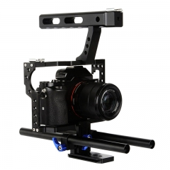 Micro Single Photographic Camera Rabbit Cage Stabilizer for Sony A7 A7S A7R2 GH4 As Picture