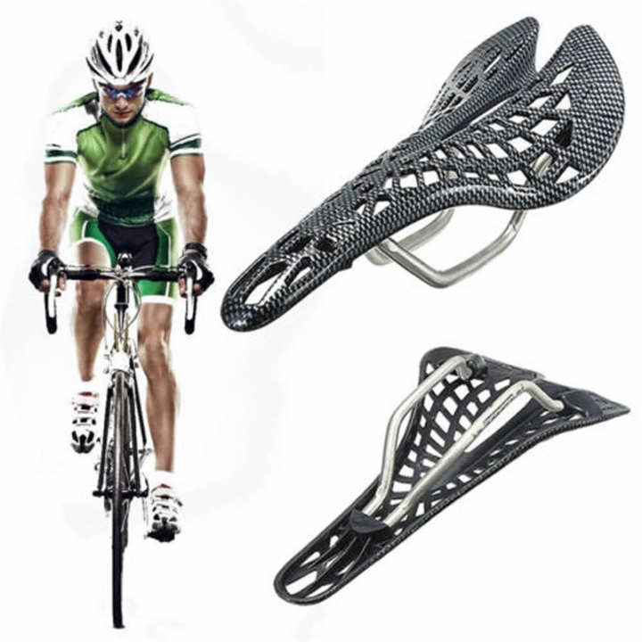 MTB Road Mountain Cycling Bike Ergonomics Hollow Plastic Spider Saddle Seat Cushion Comfortable As Picture