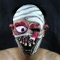 Burst Hanging Eyeball Mummy Halloween Christmas Bar Party Ghost House Horrible Latex Mask At Picture Free size