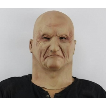Party Cosplay Horror Zombie Mask Halloween Fancy Dress Costume Human Party Face Mask At picture Free size