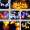 LED Skull Ghost Shaped LED String Lights Decoration Halloween Indoor Outdoor Lights Pumpkin-10LED