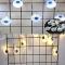 LED Skull Ghost Shaped LED String Lights Decoration Halloween Indoor Outdoor Lights Ghost eyes-10LED
