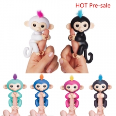 Fingerlings Interactive Baby Pet Electronic Monkey Kids Toy Funny Sound Gift Black 13*5.2*22cm