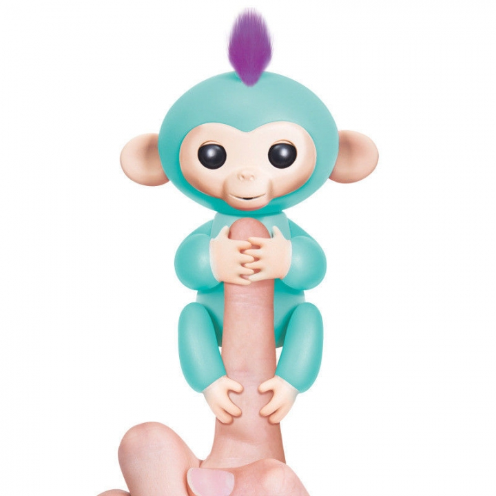 Fingerlings Interactive Baby Pet Electronic Monkey Kids Toy Funny Sound Gift Green 13*5.2*22cm