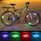 Cycling Wheel Spokes Lamp Mountain Bike Spokes S-Type Light Bicycle Riding Equipment Red for Bike