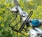 Cycling Mountain Bike Bicycle Water Bottle Holder Cage Alloy Mount Bottle Holder Bracket Rack Black