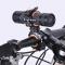 Rotate Bicycle Light Holder Cycling LED Flashlight Lamp Handlebar Holder MTB Bike Front Light Clip Orange