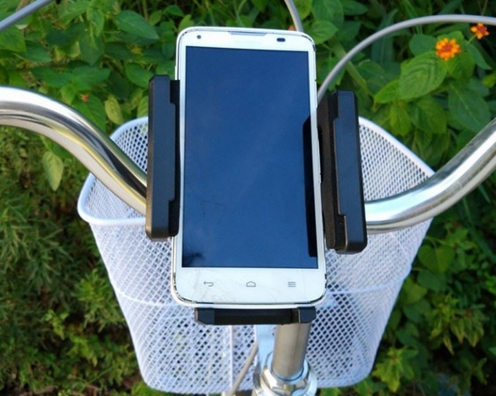 Universal Motorcycle MTB Bike Bicycle Handlebar Mount Holder for Phone GPS At Picture