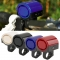 MTB Road Bicycle Bike Cycling Ring Waterproof Bicycle Horn Safety Riding Warning Bell Blue