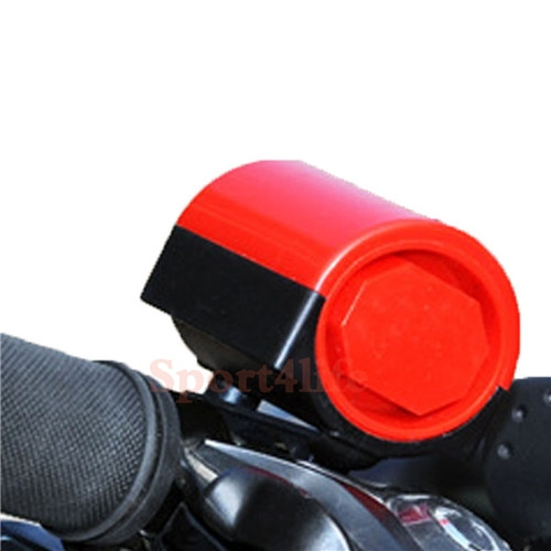 MTB Road Bicycle Bike Cycling Ring Waterproof Bicycle Horn Safety Riding Warning Bell Red