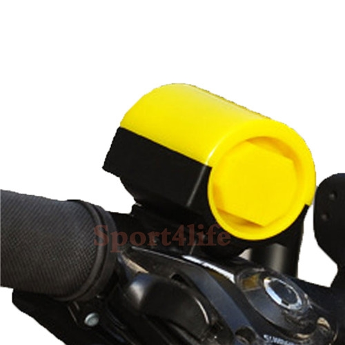 MTB Road Bicycle Bike Cycling Ring Waterproof Bicycle Horn Safety Riding Warning Bell Yellow