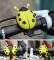 Cycling Riding Bell Mountain Bike Handlebar Mini Alarm Ring Loud Bell Beetle Bicycle MTB Bell Yellow