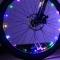 Outdoor LED Light Mountain Bike Wheels Lamp Discus Spokes Lamp Double Sense Lights Coloruied for Bike