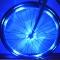 Bicycle Light Waterproof Bike Hubs Light Bike wheel Tire Hubs Warning Lamp Blue for Bike