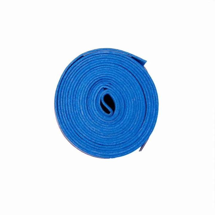 Absorb Sweat Anti Slip Racket Bat Overgrip Roll Tennis Badminton Handle Tape Blue 0.75x25x1150mm