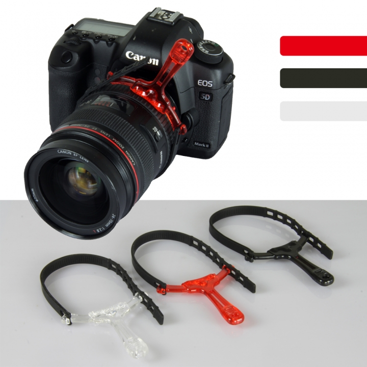 SLR Camera Focusing Ring for Carema Zoom Follow Focus Ring Handle Follow Focus Gear Belt Black