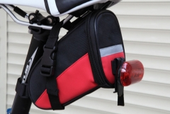 Bicycle Saddle Bag Bike Rear Bag Outdoor Sport Tool Bags Red