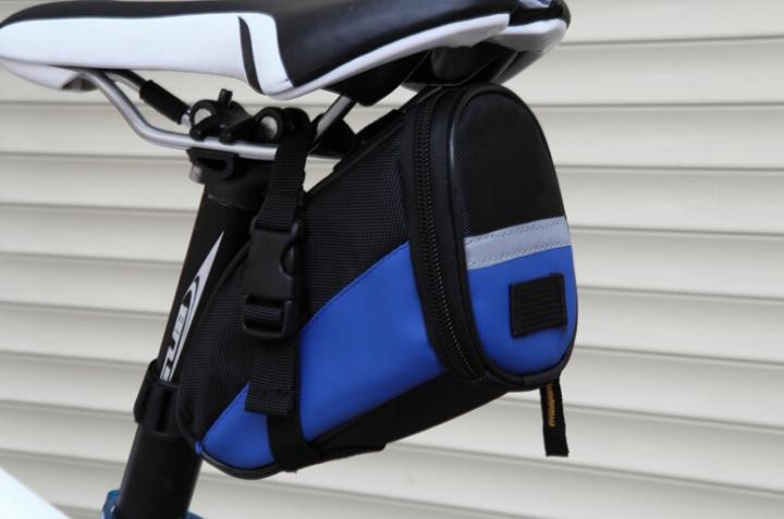 Bicycle Saddle Bag Bike Rear Bag Outdoor Sport Tool Bags Blue