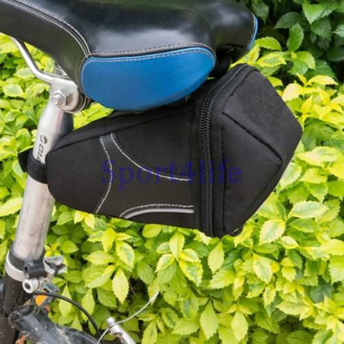 Bicycle Bike Rear Bag Rainproof  Bike Saddle Bag Outdoor Cycling Mountain Bike Back Seat Tail Bag At Picture
