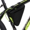 Waterproof Triangle Cycling Bicycle Bags Front Tube Frame Bag Mountain Triangle Holder Saddle Bag Black