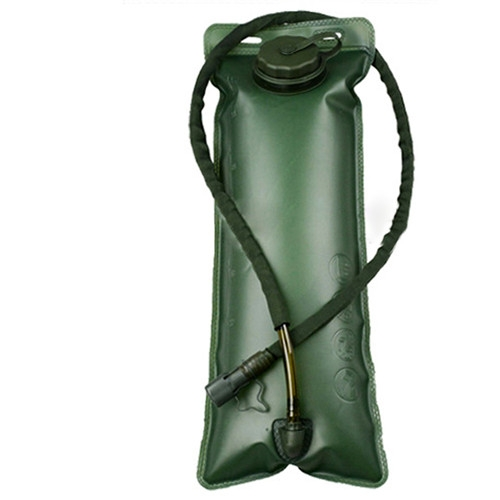 Outdoor Sports Mouth Water Bladder Bag Pack Hydration System Water Bags Backpack  for Hiking Camping Army Green