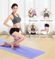 Multifunctional Fitness Legs Device Home Fitness Equipment Leg Trainers Beautiful Leg Instrument Puple
